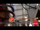 Индукционный нагрев пружины при помощи ВЧ-40АВ