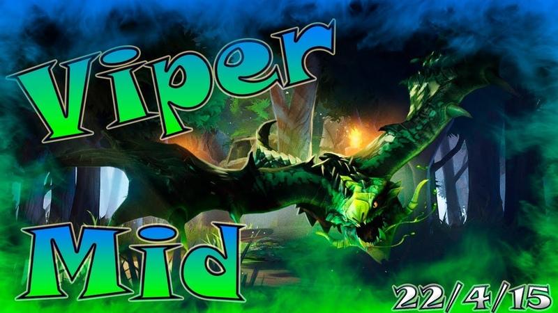 Dota 2   Viper Mid   Kill Moment   Приколы