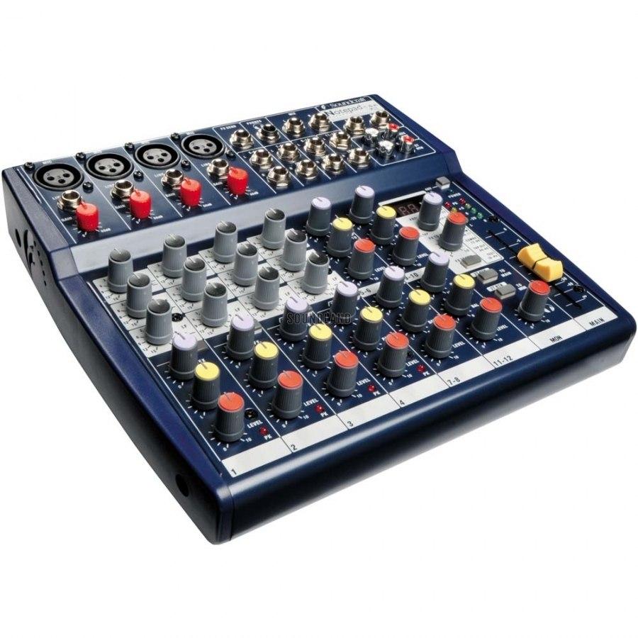 Копия Микшерный пульт Soundcraft 124FX на 12 каналов