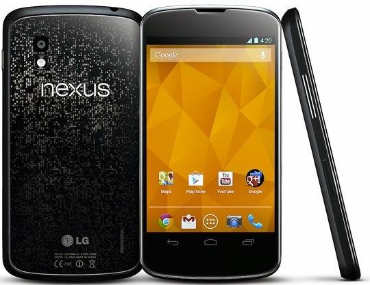 Смартфон LG Nexus 4
