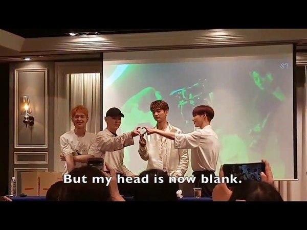 SHINee Onew's Sangtae while Key, Taemin, and Minho's triangle heart