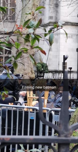 Кажется, съёмки «Бэтмена» стартовали