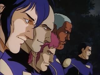 Гайвер - биомеханическая броня. Эпизод 4. Атака гиперзоаноидов (ОВА 1989 года) (озвучили: группы SHIZA и AniFilm). Часть 1.
