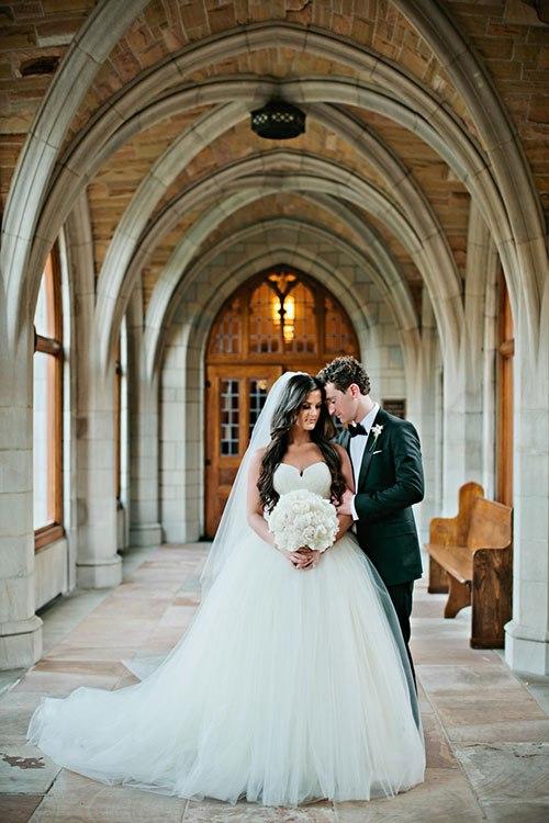 Изумительная свадьба в стиле Гламур (25 фото)