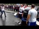 Петр Мартыненко Видео пятый этап чемпионата России по силовому экстриму Становая тяга автомобиля 320 кг