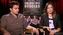 Olivia Wilde and Jake Johnson Went to Work Drunk For Drinking Buddies POPSUGAR Interview