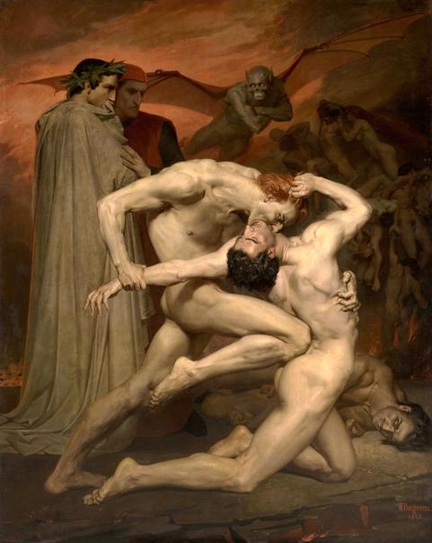 « одного шедевра». «Данте и Вергилий в аду», Адольф Вильям Бугро