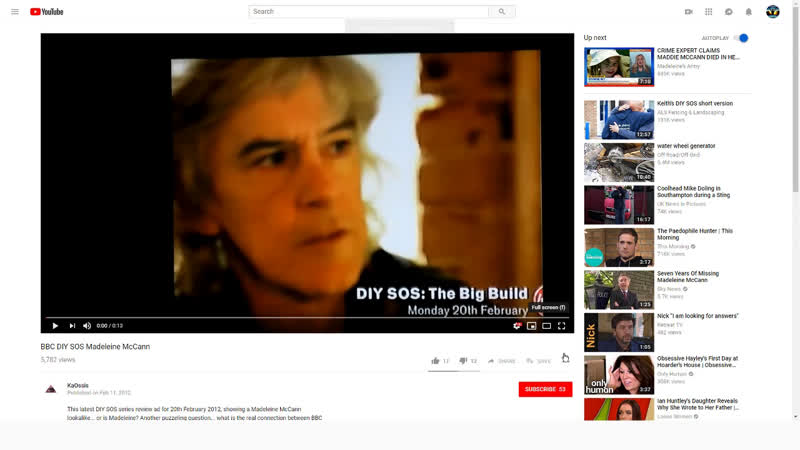 Madeleine McCann Look-A-Like In 2012 BBC DIy SOS TV Show - Is It Her?