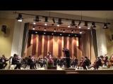 Й. Гайдн - концерт для виолончели с оркестром C-dur ,1 часть. Солистка - Елена Позднякова. Дирижер - Игорь Вербицкий.