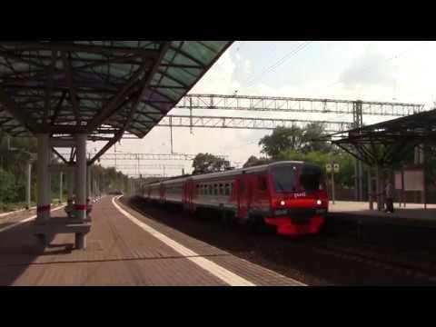 Электропоезд ЭД4М-0161(с вагоном ЭД4М-009410) платформа Яуза