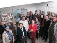 Группа участников 20-го заседания семинара в Ржевском краеведческом музее. 25.03.2017