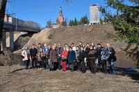 Группа участников 20-го заседания семинара в г. Ржеве. 25.03.2017