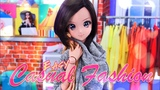 DIY - How to Make EASY Casual Fashion Smart Doll Barbie Fresh Dolls &amp more