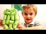 ПОДЕЛКИ ИЗ БУМАГИ Виноградная гроздь из бумаги Бумажные поделки для детей Простые поделки из бумаги
