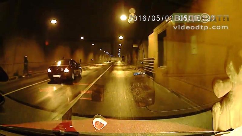 ДТП выезд из Лефортовского тоннеля   ДТП авария