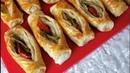 Турецкие пирожки с тестом юфка, с мясной начинкой / MUHTEŞEM LEZZETİ OLAN FARKLI KARNIYARIK BÖREK (Mutlaka deneyin, beğenmezseniz ben buradayım 👌👌)