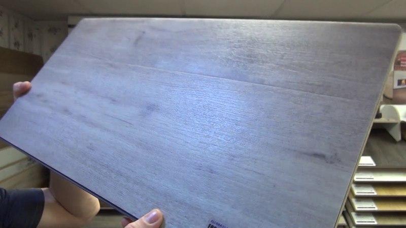 Обзор! Плитка ПВХ forbo allura click. кварц виниловый пол для кухни, водостойкий ламинат.