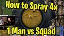 Kaymind Pubg Solo Squad 20 Kills Top 1 - Spray 4x scope m416