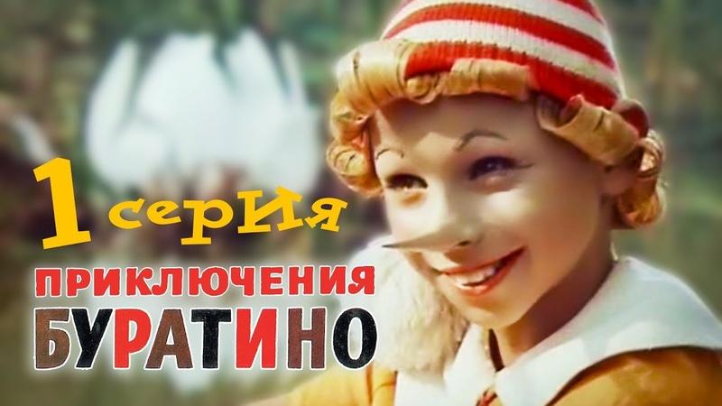 Приключения Буратино. 1 серия (1975). Детский фильм   Золотая коллекция