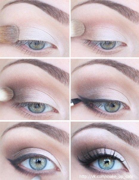 Яркий макияж глаз пошагово