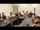 Бойцы Союза ММА России на сборах в Крыму прослушали лекцию о допинге.