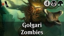 MTG Arena GRN | Golgari Zombies Gameplay and 180 Pack Opening [He's Back]
