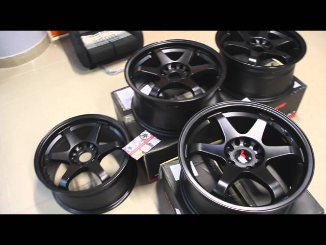 диски Japan racing jr3 17x8j et35 matt black