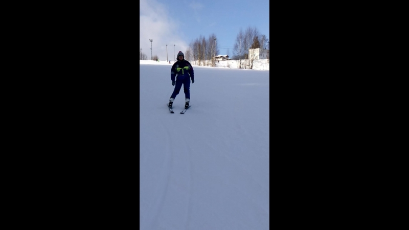 Ёж и лыжи или верх КРОТости.