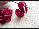 Мастер-класс по вышивке лентами №1.Tutorial for embroidery.