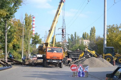 В Таганроге идет ремонт теплосетей и подключение отопления