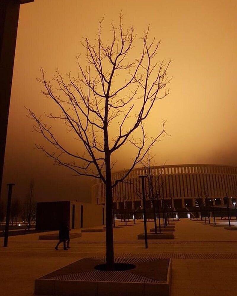 Страшно красивый стадион Краснодар