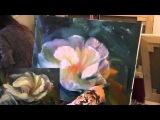 Научиться рисовать цветы, художник Сахаров, уроки живописи для начинающих