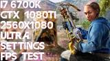 Far Cry New Dawn i7 6700k Gtx 1080 Ti 219 2560x1080 Ultra Settings FPS TEST Gameplay