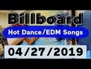 Billboard Top 50 Hot Dance/Electronic/EDM Songs (April 27, 2019)