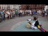 universiade Kazan 2013년 7월 10일 카잔 유니버시아드. 바우만 거리 사물놀이 공연 (어수민) 1