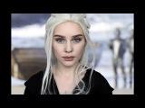 Game of Thrones Daenerys Targaryen Emilia Clarke Makeup TRANSFORMATION