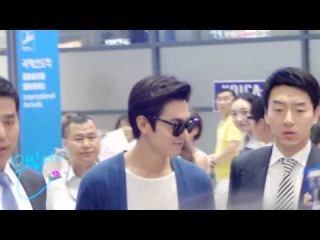 [직캠] Leeminho / 07.04 Incheon Airport 2 by 은빛아이