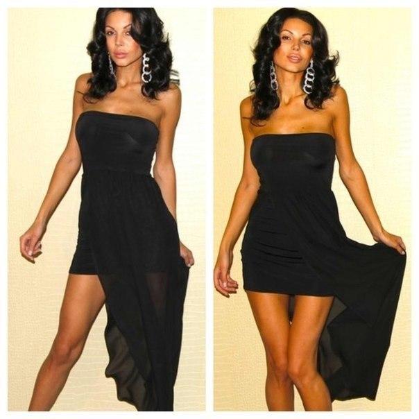 Шикарне вечірнє плаття фото