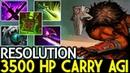 Resolution [Juggernaut] Pro 3500 HP Carry Agi Crazy Game 7.19 Dota 2