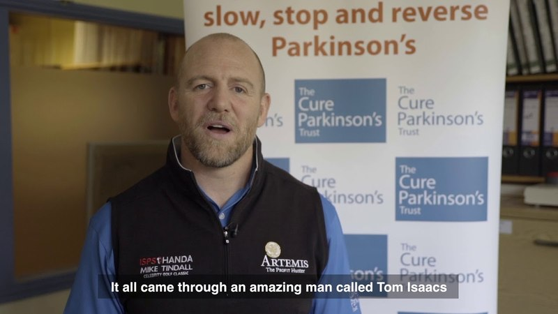 Mike Tindall - Patron of The Cure Parkinson's Trust