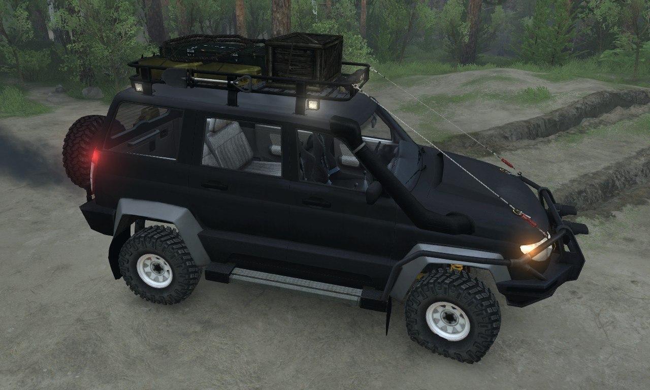 УАЗ Патриот Concept для 03.03.16 для Spintires - Скриншот 1