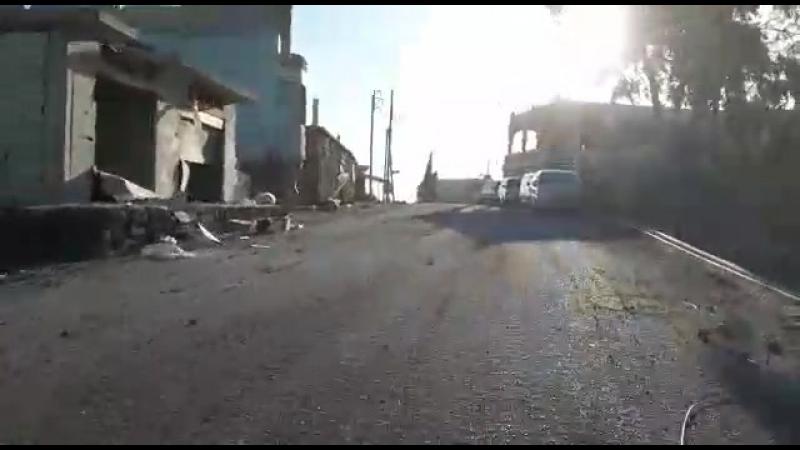 24.06.18 - Съёмки в селе Джадаль (регион Аль-Ладжа, провинции Дараа)