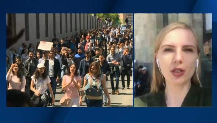 Вести.Ru: В Ереване опять протестуют: к Пашиняну присоединяются крупнейшие оппозиционные партии