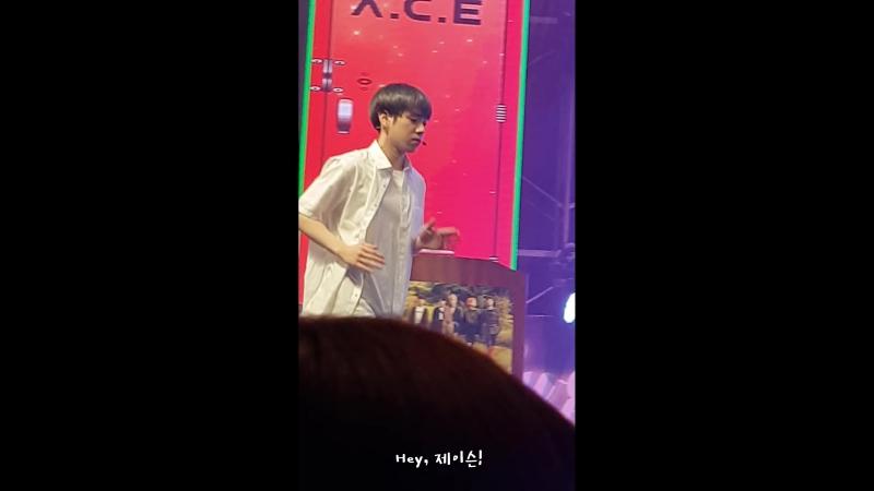 FANCAM | 17.03.18 | Jason - Karaoke @ Fan-con 2018 'Sweet Fantasy' in Seoul