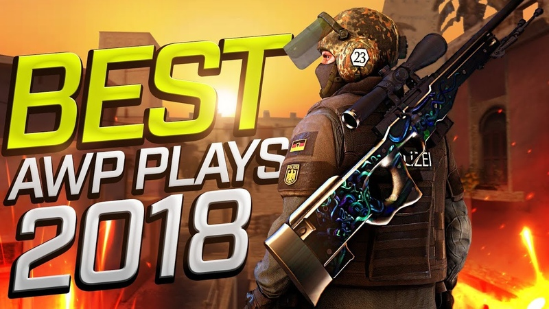 CSGO - BEST PRO AWP Plays 2018 (Fragmovie)