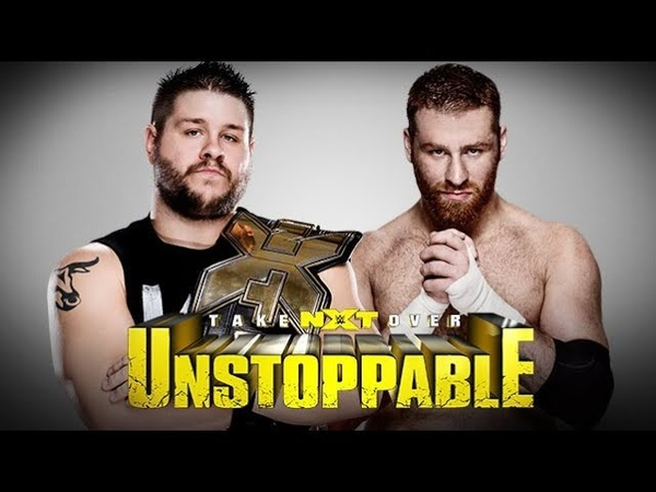 NXT TakeOver Unstoppable Kevin Owens vs Sami Zayn Highlights