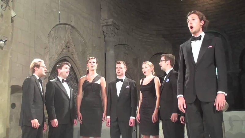 Leonard Bernstein, arr. Jim Clements: Maria (from West Side Story) - Voces8 06.08.10