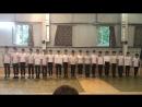 Смотр строя и песни 1 отряд 1 смена