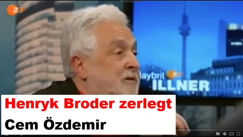 Henryk Broder zerlegt Cem Özdemir