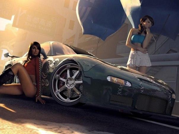 Обсуждение + опрос Автомобиль или девушка?